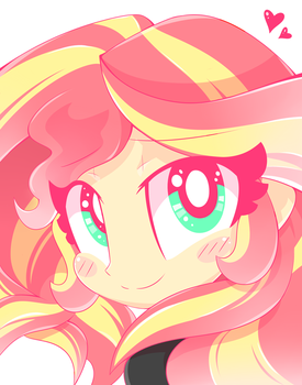 Sunset Shimmer Sees You! by HungrySohma16