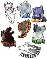 Badges 1 by Lenval
