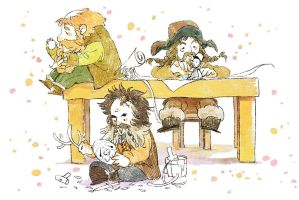 Hobbit's Toymakers! by harmonia3784
