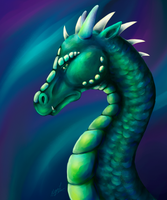 Aurora Dragon by MillyD13