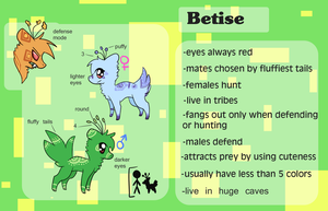 Betise (FREE SPECIES) by Perry--Agent