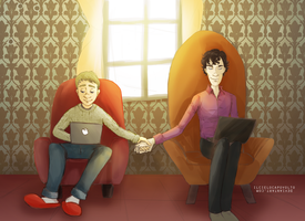 Johnlock - Up. by ilcielocapovolto