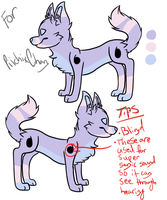 New Character or animal for Tessa by Z3rn4rius
