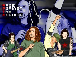 Rage Against The Machine by SNiPER85