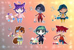 Adopt Set 5 [4/6 OPEN] by x-chaoticdawn-x