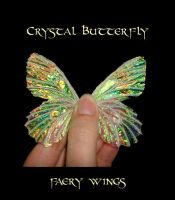 Crystal Butterfly wings by S0WIL0