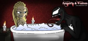 Amanda and Venom by ebbewaxin