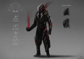 WARFRAME CONCEPT ART: SILAS by nobody00000000