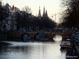 Amsterdam by babsartcreations