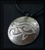 SS Eye of Ra pendant by che4u
