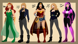My own DC universe part 3 by Andi-Tiucs