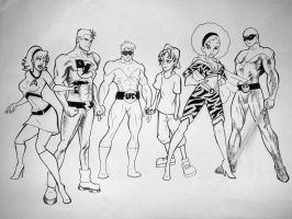Incredible Superhero Division by BeJennerous