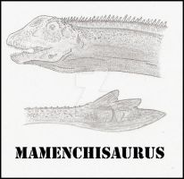 Mamenchisaurus by Miyess