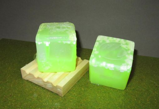 Lime Margarita Soap by tinkerheck