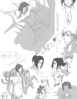IshiHime Sketchy Attack 5 by kala-k