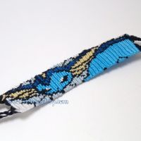 "Vaporeon 1.25"" Bracelet by CarrieBea"