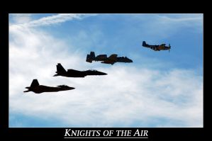Knights of the air by Photobeast