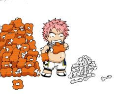 natsu being a fatty by cartmanxkylexalways
