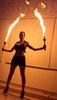Fire Samurai Sword 2 by aliceinflames