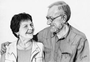 My Grandparents by manoarts