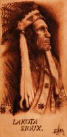 Lakota Sioux by ErikBrush