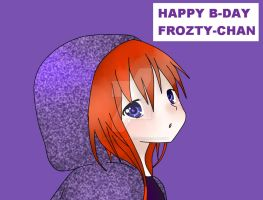 Happy Birthday Frozty-chan by CowsEat-Pineapples