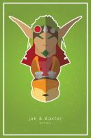 Jak and Daxter Poster by guilty-343