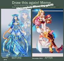 Improvement meme by Broyam