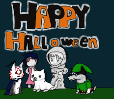 Happy Halloween, Furcadia! by FreeAndRandom