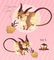 advalentine's calendar 01: chocolate cream by hawberries