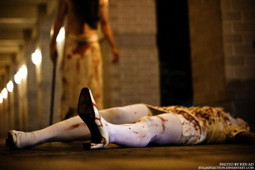EXP Con 2011 : Coming Home - Pyramid Head by stillreflection