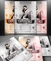 Experience - Flyer/Poster Template by mrwooo