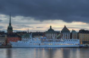 An Evening on Skeppsholmen VII by HenrikSundholm