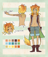 Lion Kenomimi Design:LITTLEBRO by JotakuOC
