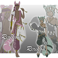 Adoptables 23 [CLOSED] by Ririkou-Adopts