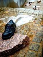 shoe fountain 2 by PhotographyByKendra