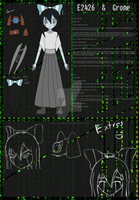 E2426 and Grome Ref Sheet by HellStorm8000