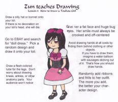 ZUN Teaches Drawing by confuzed-anime-fan
