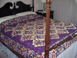 Butterfly Quilt by ironychan