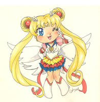 Eternal Sailor Moon by Sybil-chan