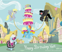 MLP Birthday Magics by Yamitora1
