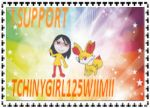 TCHINYGIRL125WIMII STAMP by HOBYMIIOFFICIEL