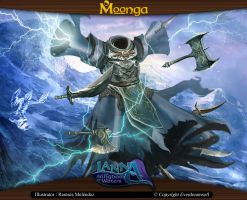Moonga - Warrior Spirit of the Frozen Death by moonga