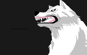 Wolf's Rain Base 4 by LineArtForFree