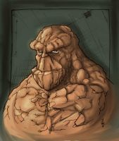 The Thing by dnmn89