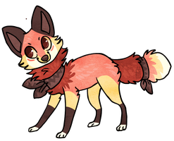 Fox design by griffsnuff
