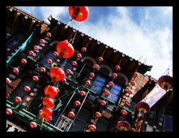 Chinatown Lanterns by krissy