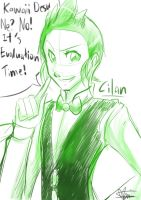 Quick Draw: Cilan by Marini4