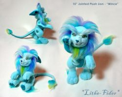 "Jointed Blue Lion ""Mince"" by Lithe-Fider"