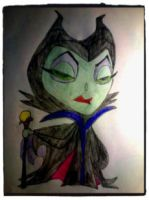 Meleficent by DarkKinightWatcher